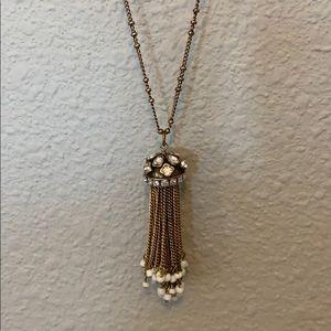 (3/$20) Jewelmint Antique Bronze Pendant Necklace